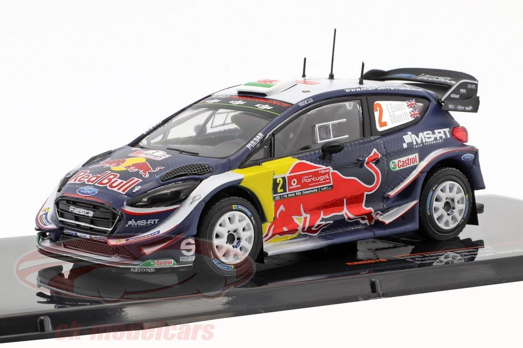 ixo-1-43-ford-fiesta-wrc-no2-2nd-rally-portugal-2018-evans-barritt-ram676/