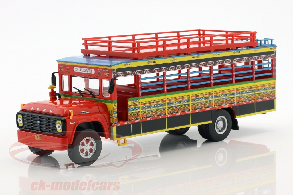 altaya-1-43-ford-f-100-chiva-bus-colombia-year-1990-red-yellow-blue-acbus054/