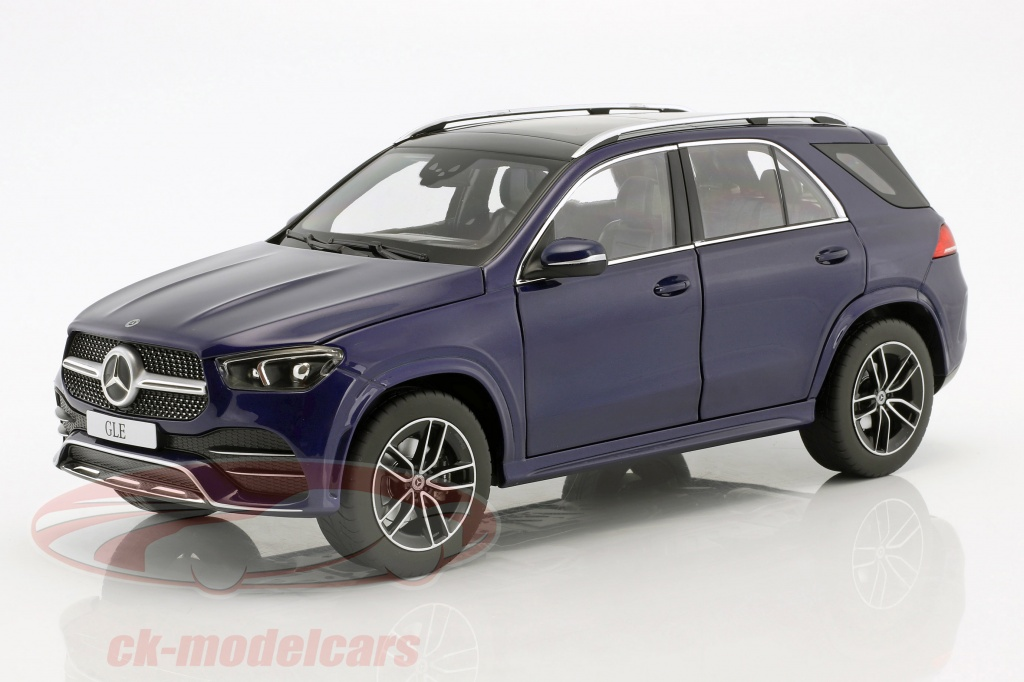 norev-1-18-mercedes-benz-gle-v167-annee-de-construction-2018-brillant-bleu-metallique-b66960554/