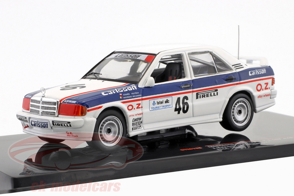 ixo-1-43-mercedes-benz-190e-23-16v-no46-etcc-1986-vojtech-micangeli-gtm126/
