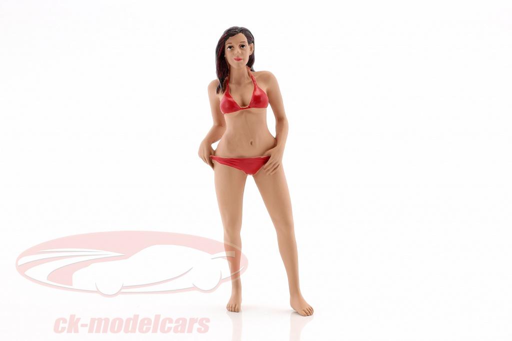 american-diorama-1-18-calendar-girl-octobre-en-bikini-ad38174/
