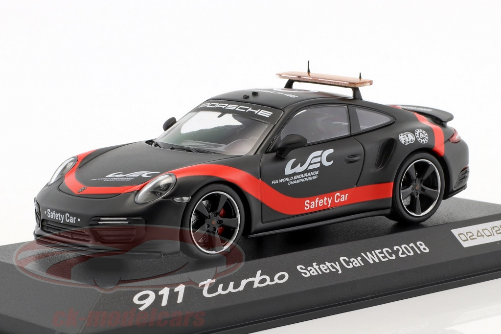 minichamps-1-43-porsche-911-991-ii-turbo-safety-car-wec-2018-kedelig-sort-rd-wap0209270k/