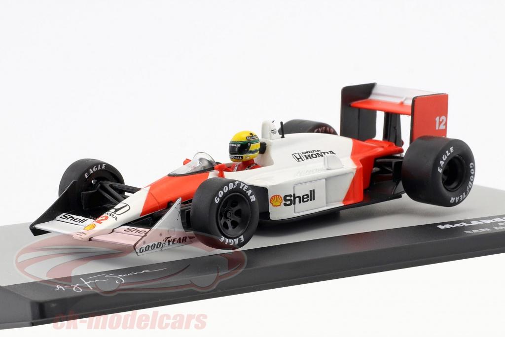 altaya-1-43-ayrton-senna-mclaren-mp4-4-no12-ganador-san-marino-gp-formula-1-1988-ck51589/