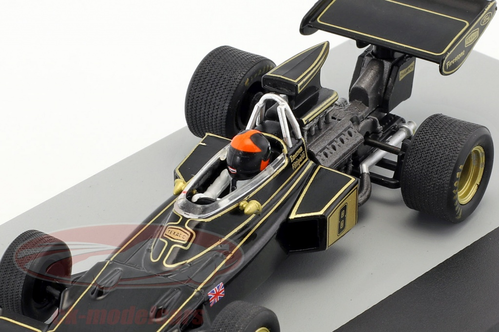Emerson Fittipaldi Lotus 72D #8 Gangant Grande-Bretagne Formule Gp 1 1972 1:43