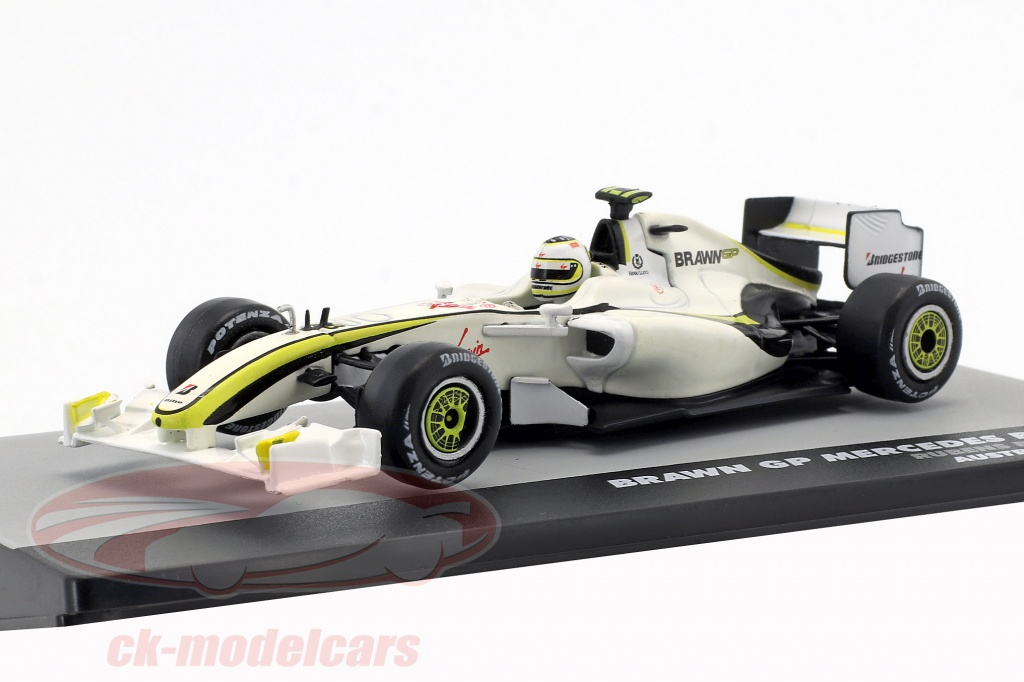 altaya-1-43-rubens-barrichello-brawn-bgp-001-no23-2nd-australia-gp-formel-1-2009-ck51588/