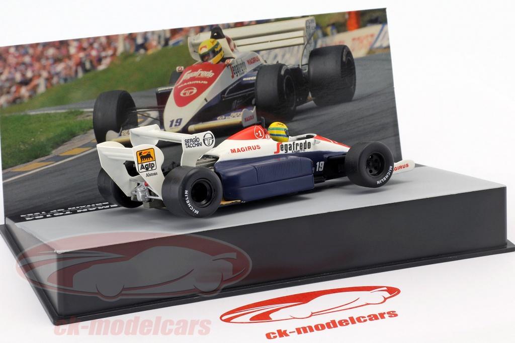 Ayrton Senna Toleman TG183B #19 Brasilien GP Formel 1 1984 1:43 Altaya