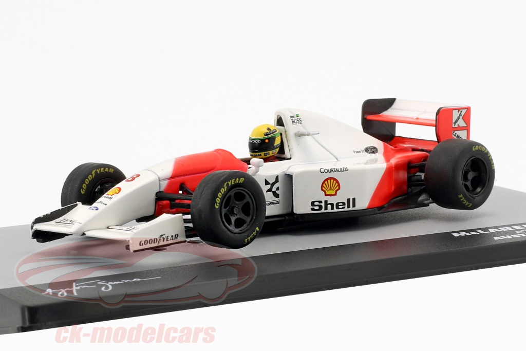 altaya-1-43-ayrton-senna-mclaren-mp4-8-no8-ganador-australia-gp-formula-1-1993-ck29567/