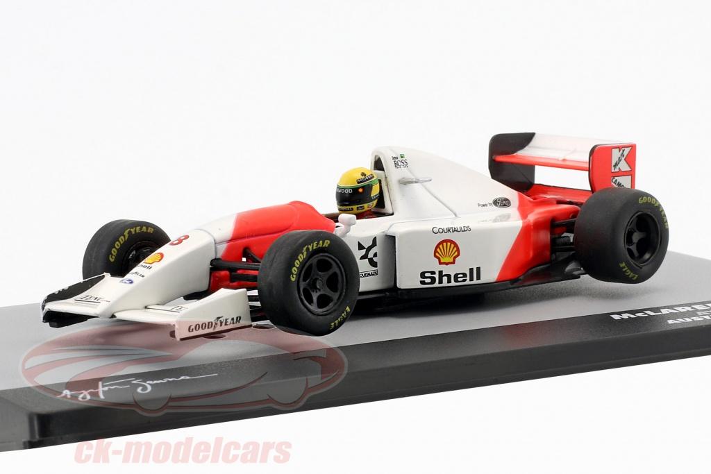 altaya-1-43-ayrton-senna-mclaren-mp4-8-no8-vencedor-australia-gp-formula-1-1993-ck29567/