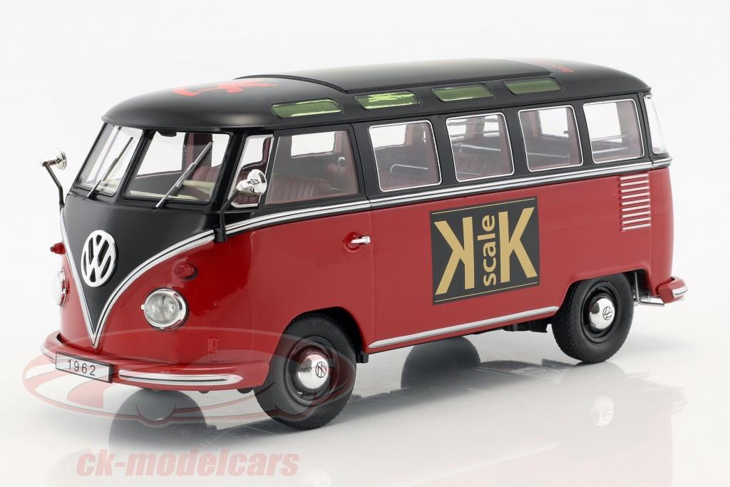 kk-scale-1-18-volkswagen-vw-bulli-t1-samba-toy-fair-nuernberg-2019-year-1962-red-black-kkdc180153/