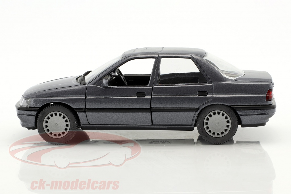 Ford Orion Rhd Grey Blue Metallic 1 24 Schabak
