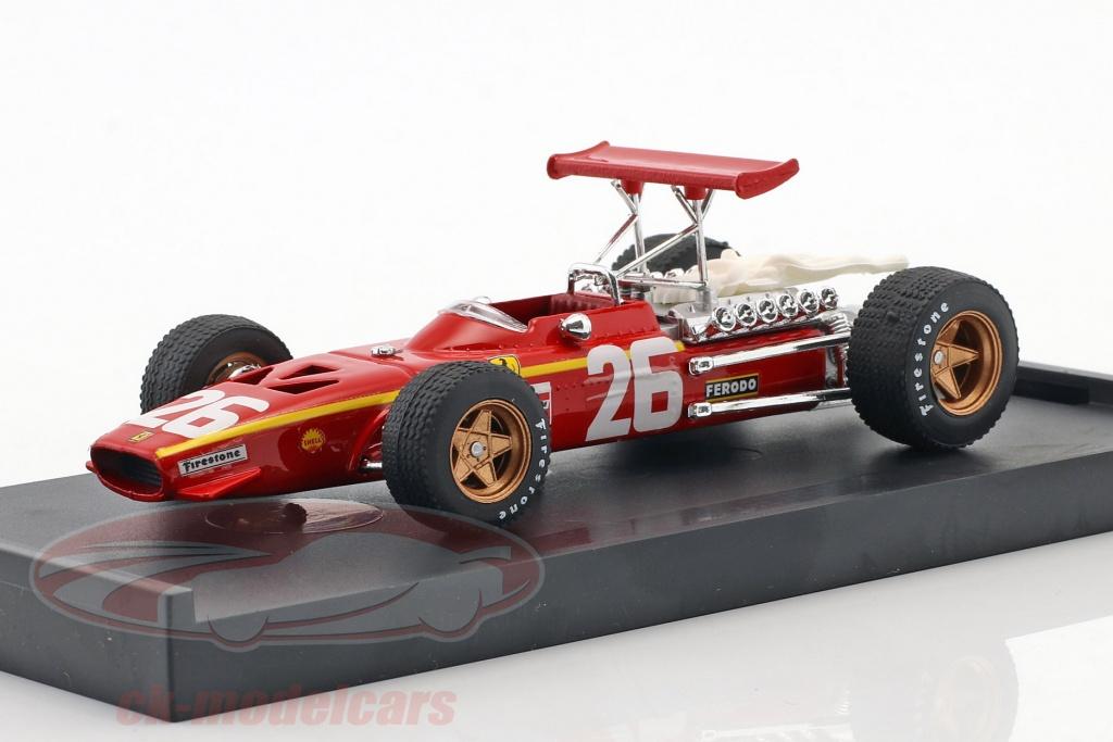 brumm-1-43-jacky-ickx-ferrari-312-f1-no26-vinder-frankrig-gp-formel-1-1968-r171/