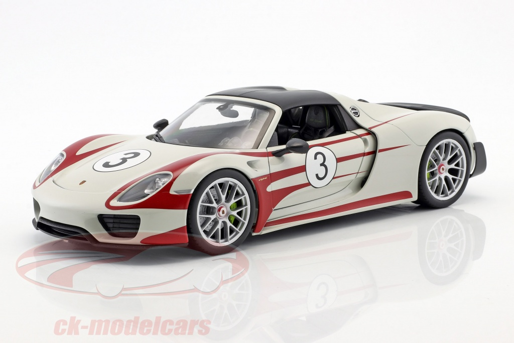 welly-1-18-porsche-918-spyder-no3-salzburg-design-blanc-rouge-map02184818/