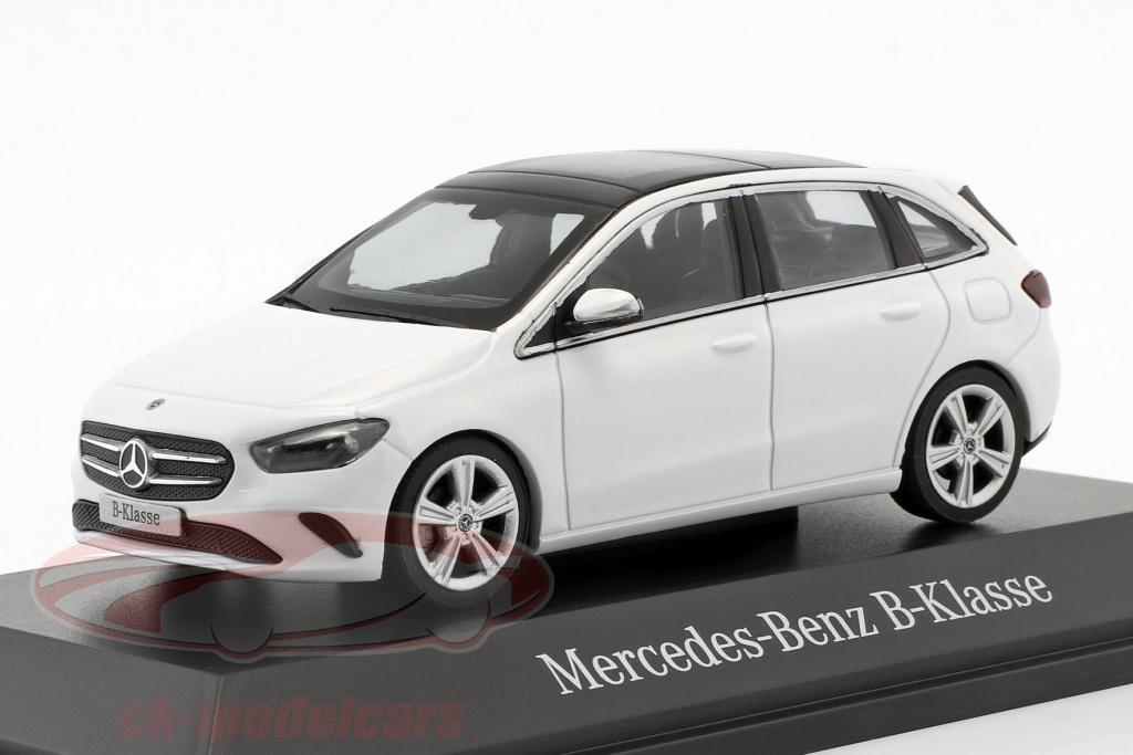 herpa-1-43-mercedes-benz-b-klasse-w247-opfrselsr-2018-polr-hvid-b66960457/