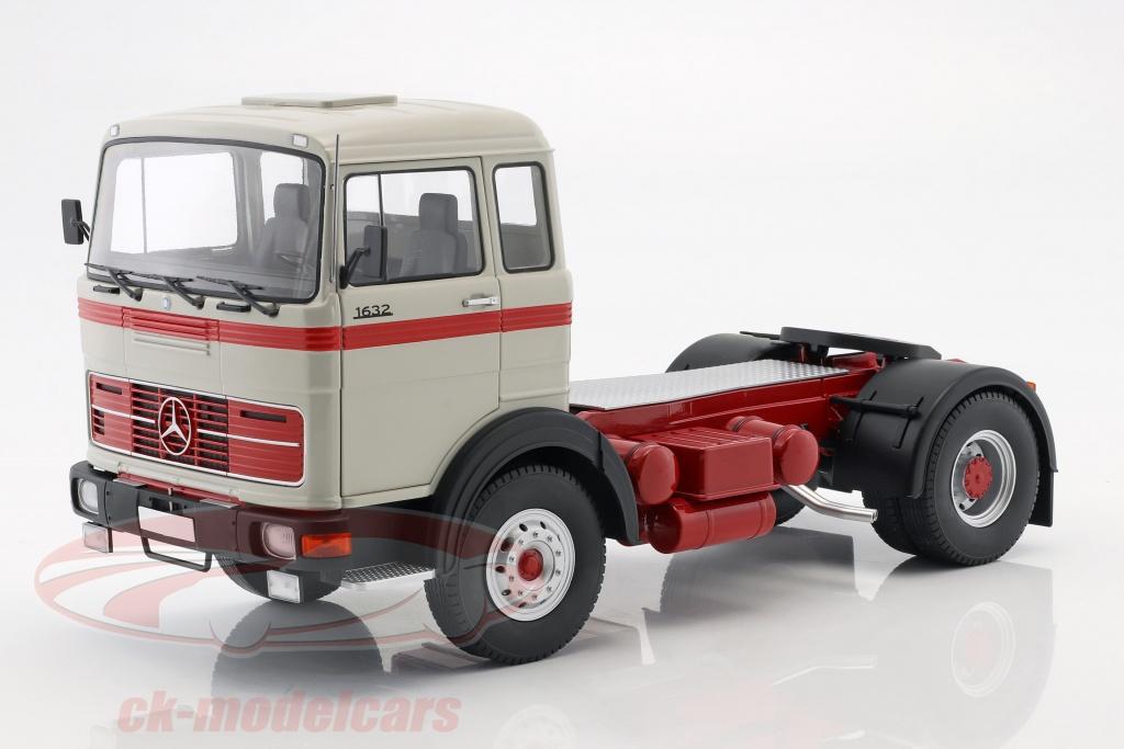 road-kings-1-18-mercedes-benz-lps-1632-trattore-anno-di-costruzione-1969-grigio-rosso-rk180023/