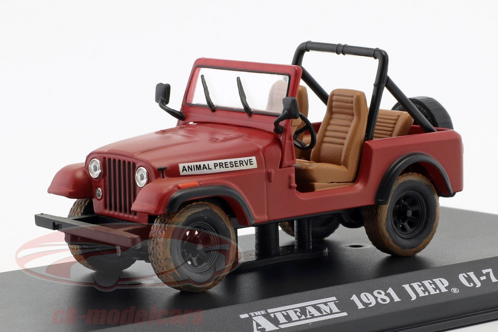 greenlight-1-43-jeep-cj-7-serie-tv-la-a-team-1983-87-rouge-86528/