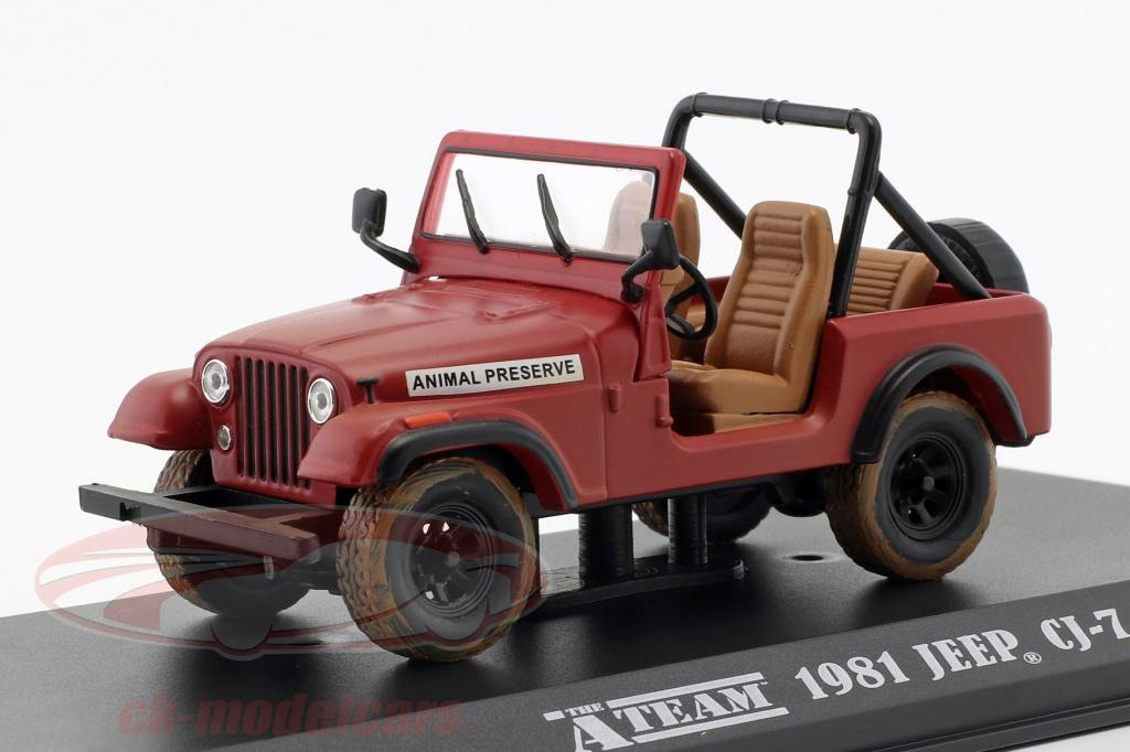 greenlight-1-43-jeep-cj-7-tv-series-the-a-team-1983-87-red-86528/