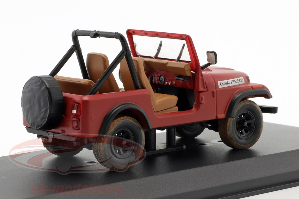 1:43 Greenlight Jeep CJ-5 from the Series A-Team darkred