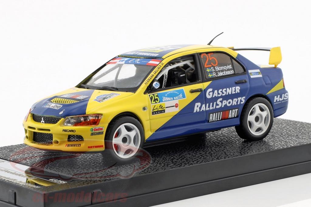 vitesse-1-43-mitsubishi-lancer-evolution-ix-no25-jaenner-rallye-2013-blomqvist-jakobsson-43255/