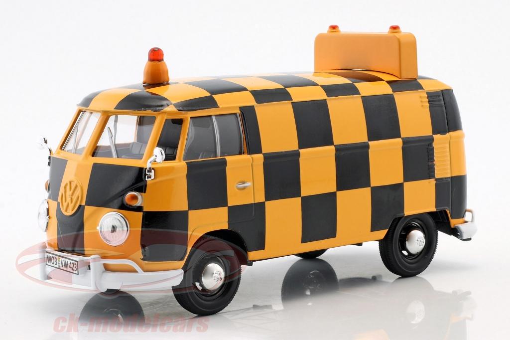 motormax-1-24-volkswagen-vw-type-2-t1-busje-airport-runway-oranje-zwart-79572/