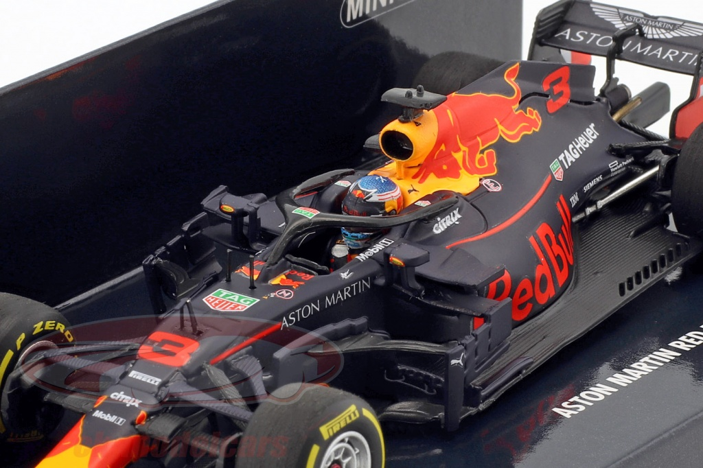 Minichamps 1:43 Daniel Ricciardo Red Bull Racing RB14 #3