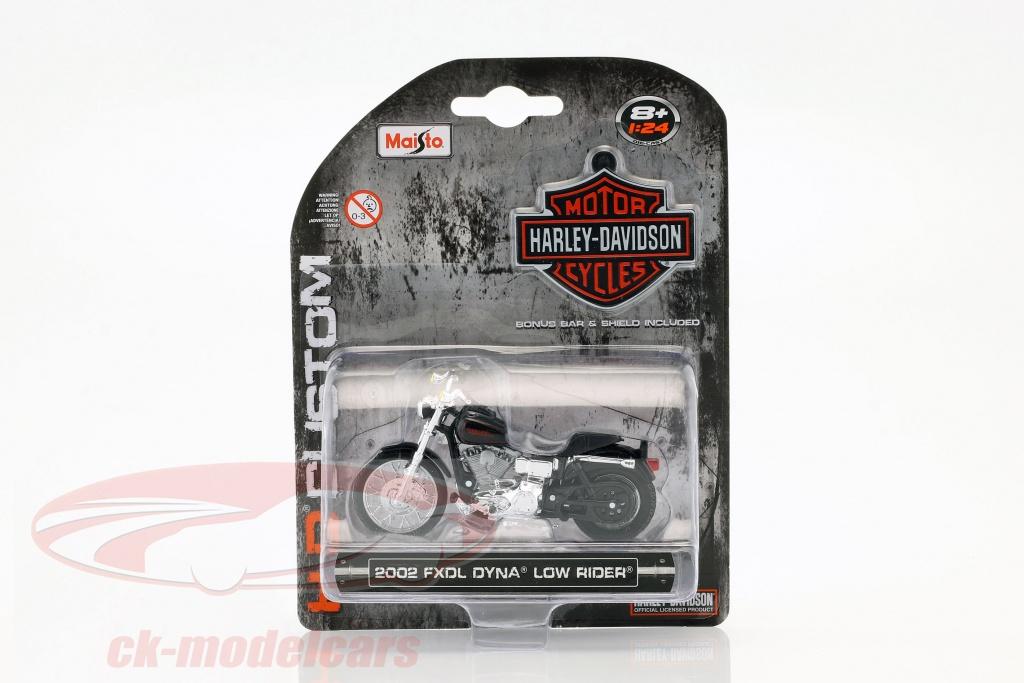 maisto-1-24-harley-davidson-fxdl-dyna-low-rider-bouwjaar-2002-zwart-04163/