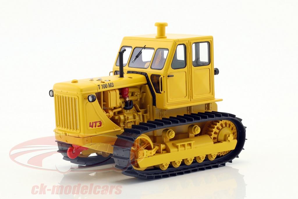 schuco-1-32-kde-traktor-t100-m3-gul-450905700/