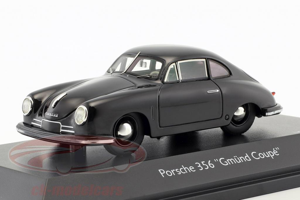 schuco-1-43-porsche-356-gmuend-coupe-zwart-450879900/