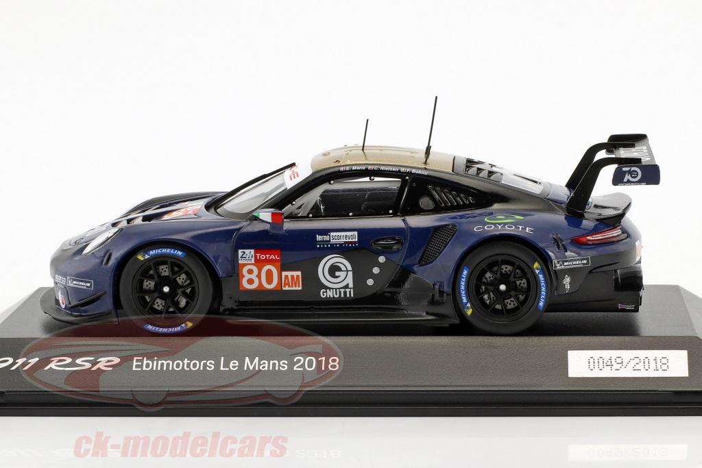 1:43 S Spark Babini // Maris // Nielsen 24h Le Mans 2018 Porsche 911 RSR