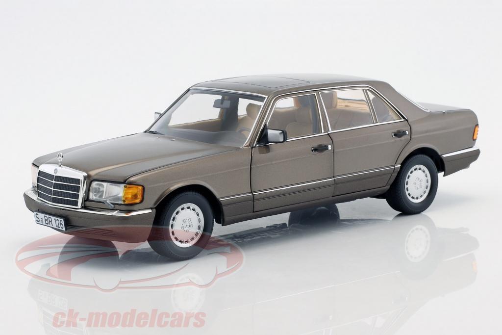 norev-1-18-mercedes-benz-560-sel-v-126-annee-de-construction-1985-1991-impala-brun-b66040646/