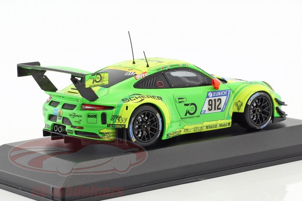991 GT3 R #912 Winner 24h Nürburgring 2018 1:43 CMR Porsche 911