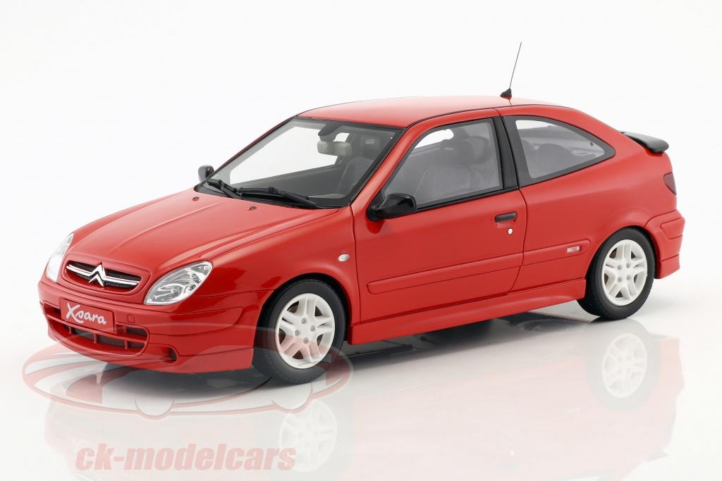 ottomobile-1-18-citroen-xsara-sport-phase-i-ano-de-construcao-2000-vermelho-ot305/