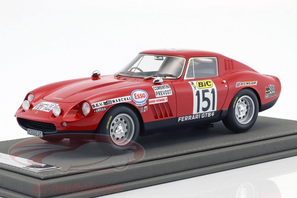 bbr-models-1-18-ferrari-275-gtb-4-no151-tour-de-france-1970-corentin-prevost-bbr1829/