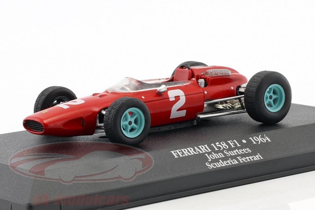 atlas-1-43-john-surtees-ferrari-158-f1-no2-wereldkampioen-formule-1-1964-mag-jh15-7174015/