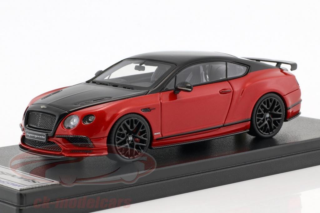 looksmart-1-43-bentley-continental-gt-supersports-ano-de-construcao-2017-preto-vermelho-metalico-bl1593/