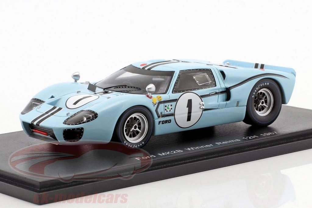 spark-1-43-ford-mk-ii-b-no1-winner-12h-reims-1967-ligier-schlesser-s5188/