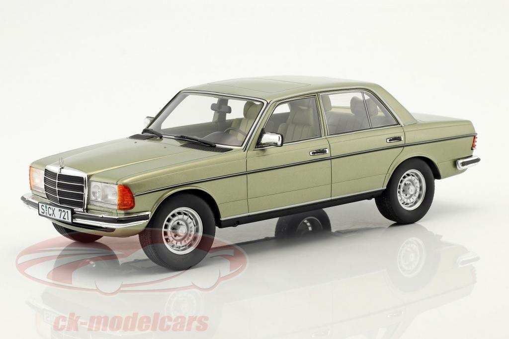 cult-scale-models-1-18-mercedes-benz-280-e-w123-bouwjaar-1976-zilver-groen-cml072-1/