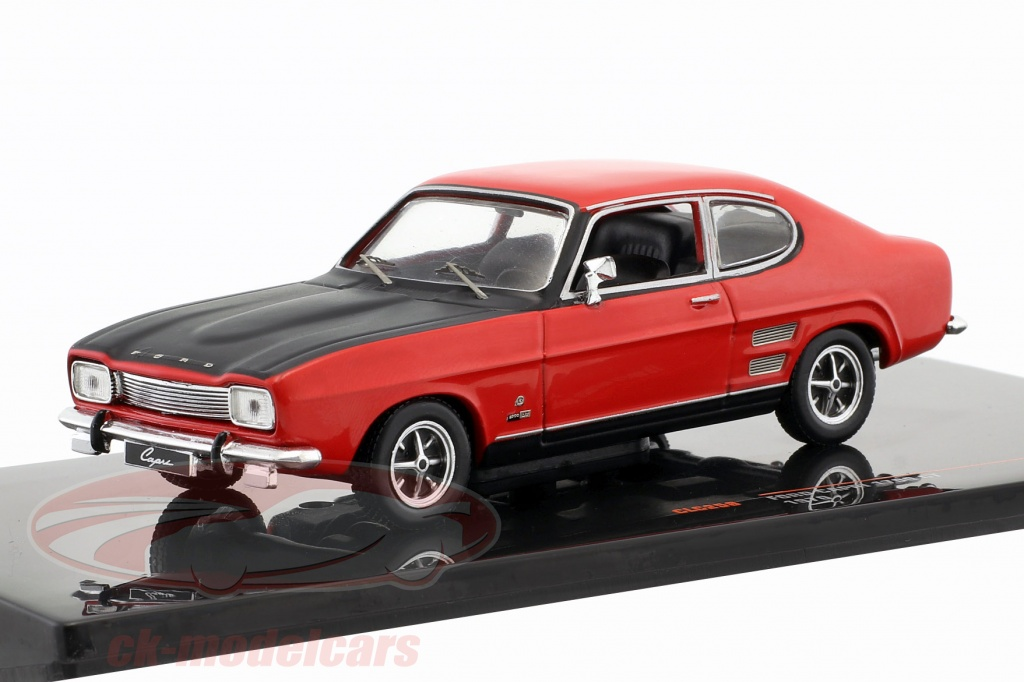 ixo-1-43-ford-capri-1700-gt-baujahr-1970-rot-schwarz-clc258/