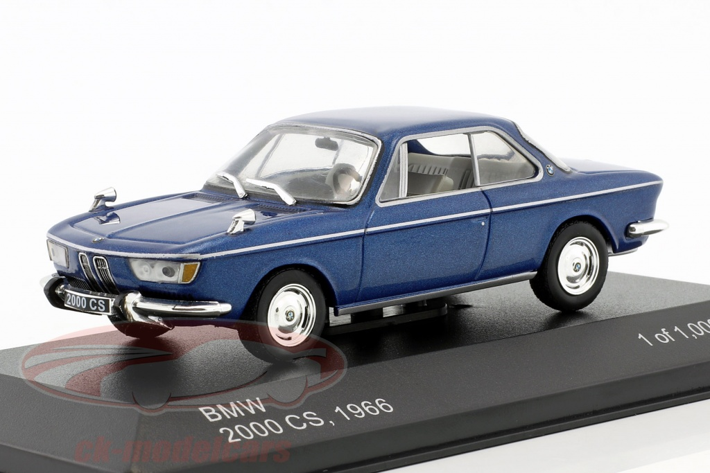 whitebox-1-43-bmw-2000-cs-year-1966-blue-metallic-wb120/