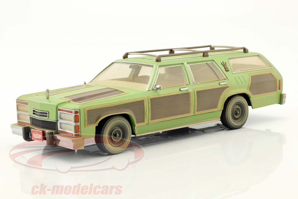 greenlight-1-18-wagon-queen-family-truckster-1979-pelcula-national-lampoons-vacation-1983-verde-marron-19048/