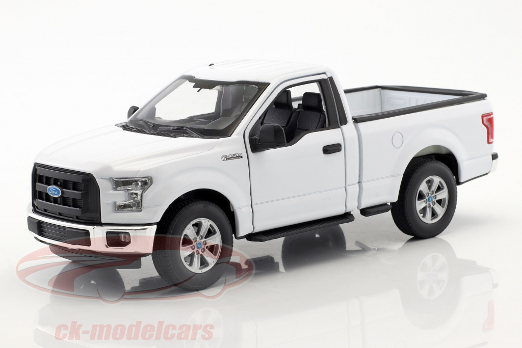 welly-1-24-ford-f-150-regular-cab-pick-up-annee-de-construction-2015-blanc-24063w/
