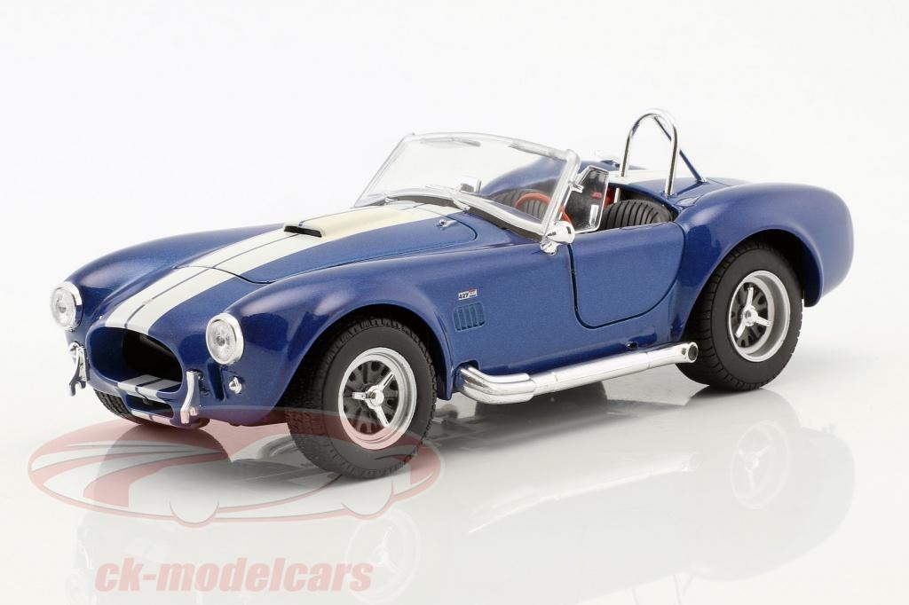 welly-1-24-shelby-cobra-sc-427-annee-de-construction-1965-bleu-blanc-24002b/