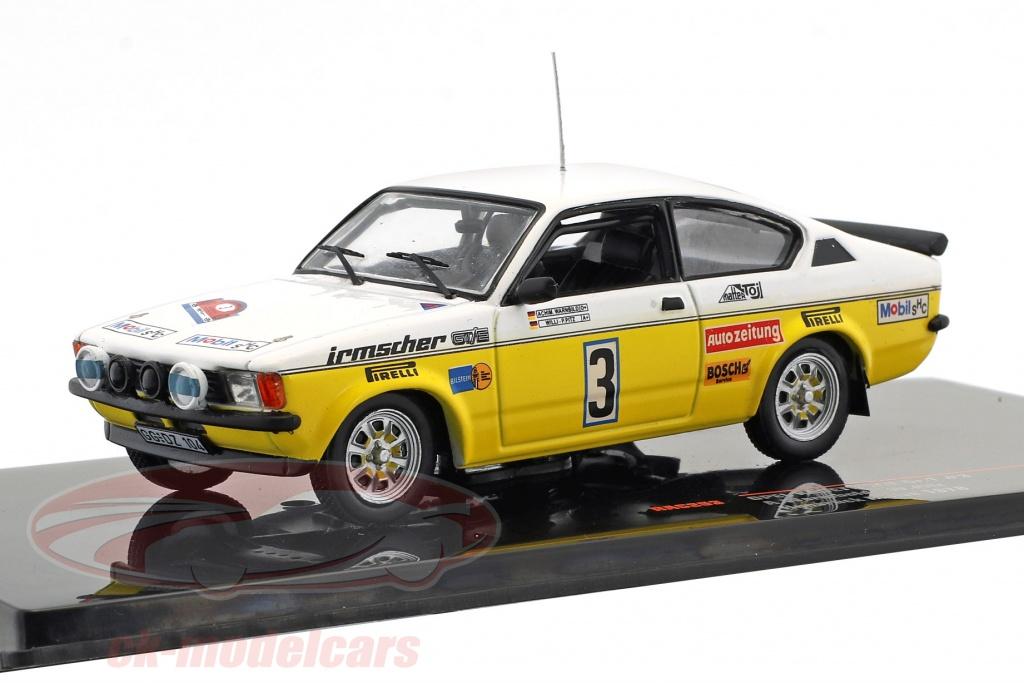 ixo-1-43-opel-kadett-gt-e-gr1-no3-rallye-hunsrueck-1978-warmbold-pitz-rac263/
