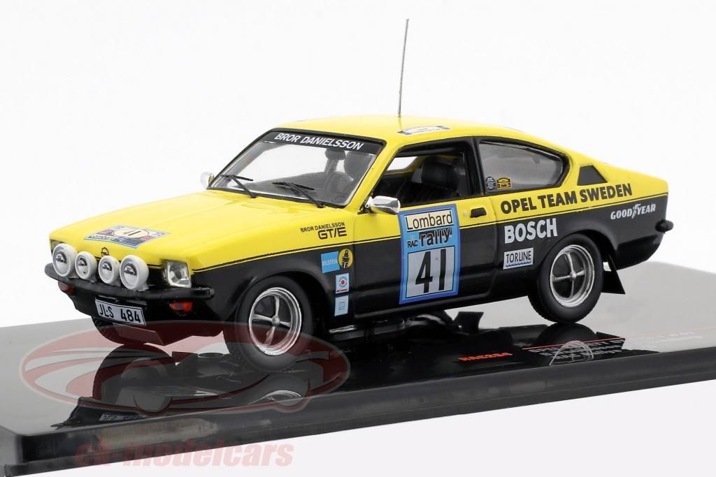 ixo-1-43-opel-kadett-gt-e-gr1-no41-lombard-rac-rallye-1976-danielsson-sundberg-rac264/