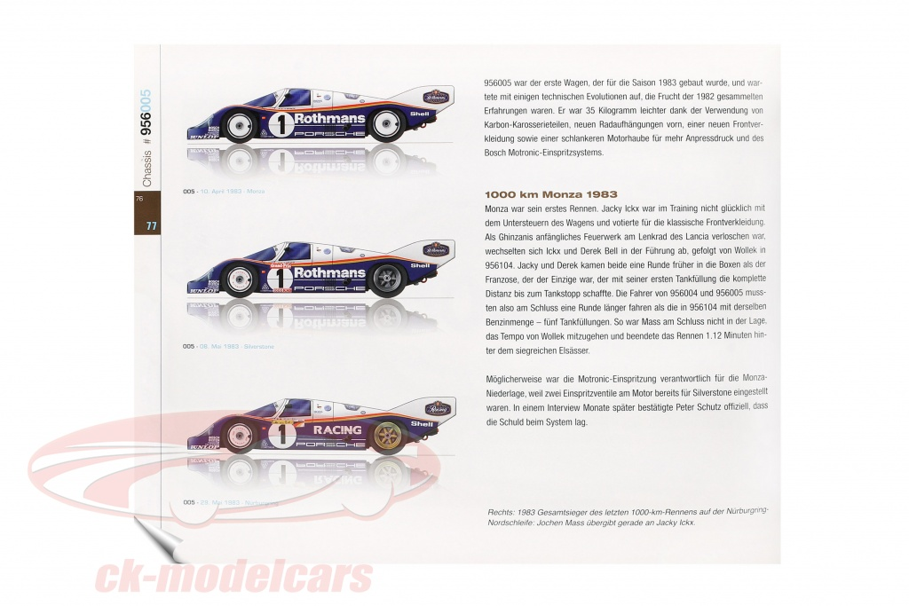 Porsche 956 - Reynald Hezard