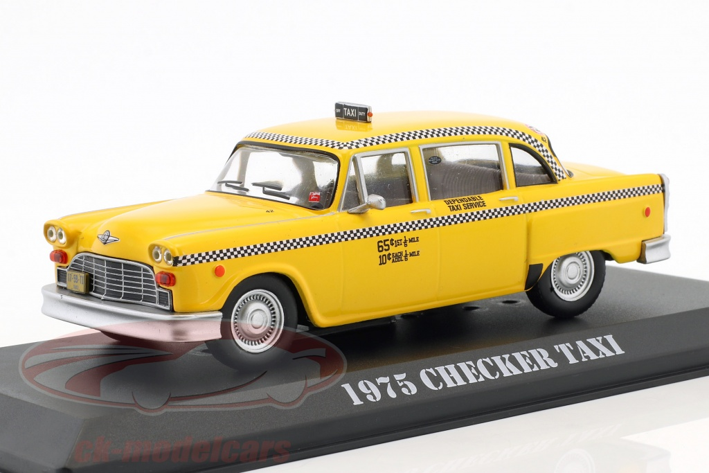 greenlight-1-43-checker-taxi-ano-de-construccion-1975-pelcula-taxi-driver-1976-amarillo-86532/