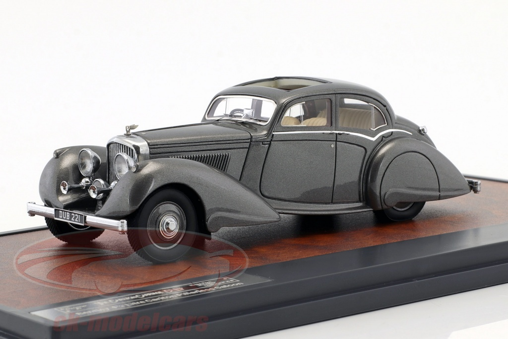matrix-1-18-bentley-425-litre-carlton-pillarless-saloon-year-1937-gray-metallic-1-43-mx40201-062/