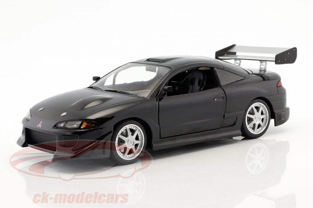 greenlight-1-18-mitsubishi-eclipse-year-1995-black-19040/