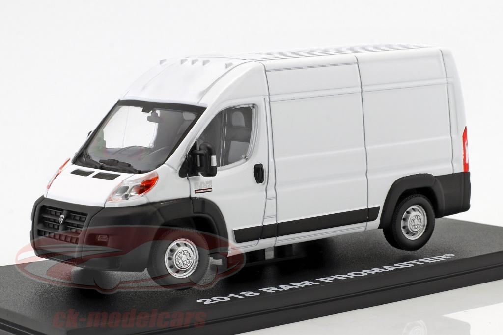 greenlight-1-43-ram-promaster-2500-cargo-furgoneta-ano-de-construccion-2018-blanco-86152/
