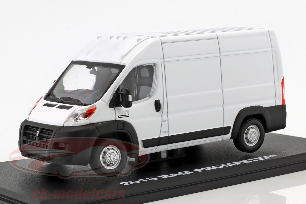 greenlight-1-43-ram-promaster-2500-cargo-van-year-2018-white-86152/