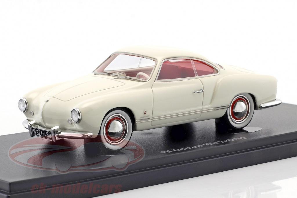autocult-1-43-volkswagen-vw-karmann-ghia-prototype-opfrselsr-1954-hvid-90066/